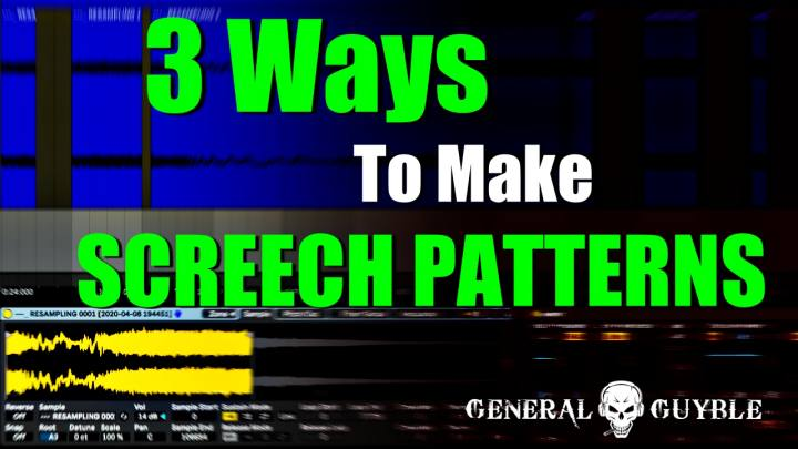 3 Tips On How To Make Screech Patterns