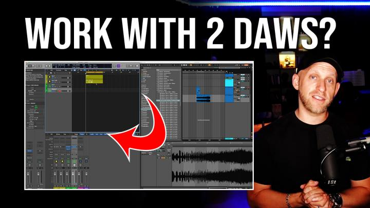 How to work with 2 DAWs at the Same Time