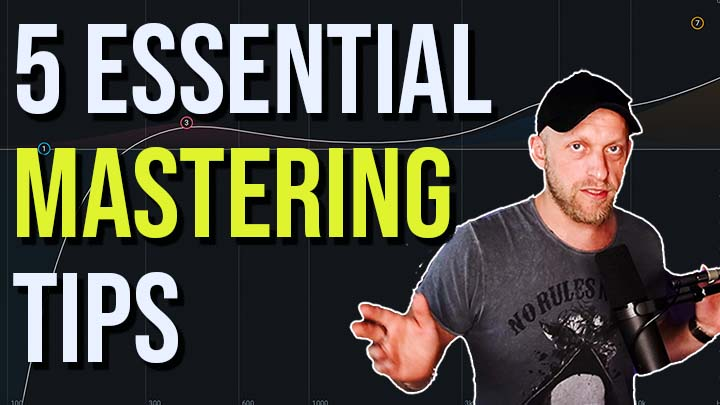 5 Tips For HOME MASTERING – DO THIS to get BETTER MASTERS
